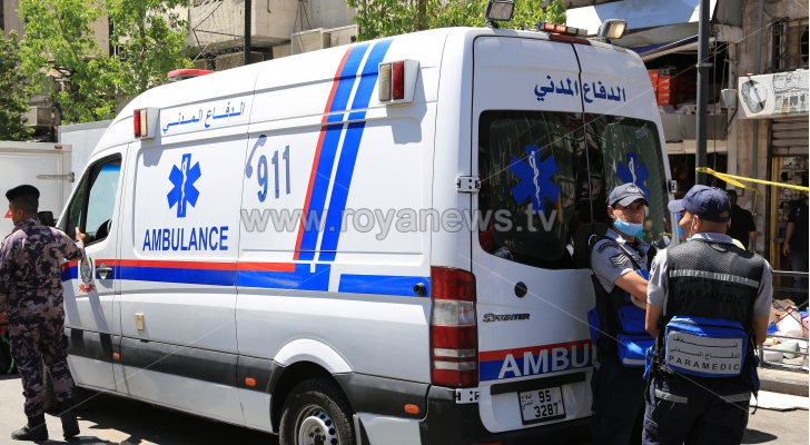 7 إصابات بحادث تصادم في اربد