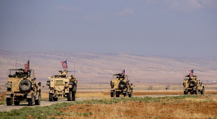 القوات الأمريكية تسير أول دورية في شمال سوريا بعد انسحابها