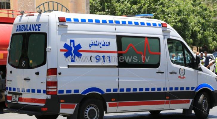 5 إصابات بحادث تصادم في عمان