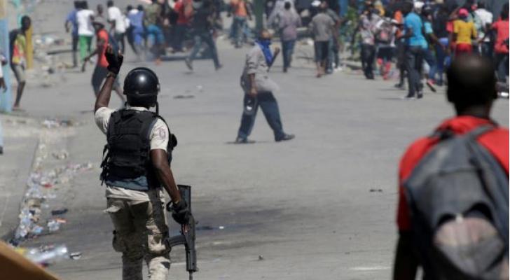 الاحتجاجات في هايتي