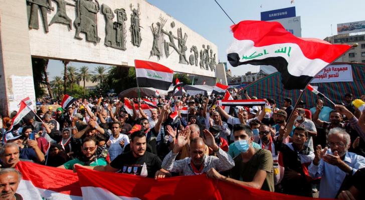 من مظاهرات العراق - ارشيفية