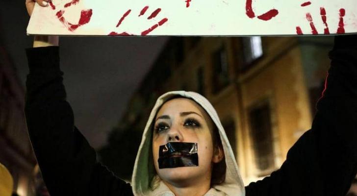 جانب من المظاهرات الغاضبة