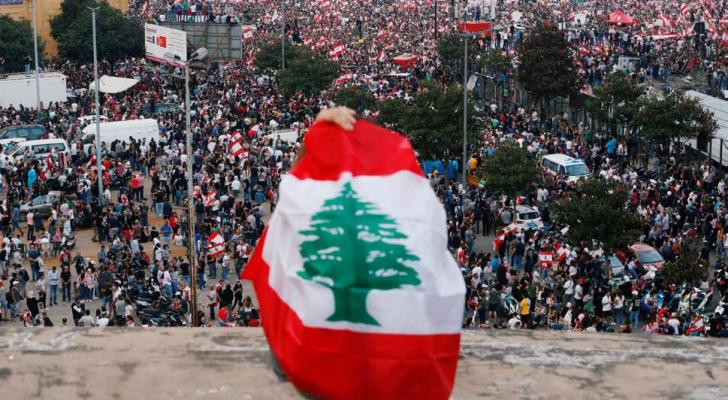 من مظاهرات لبنان