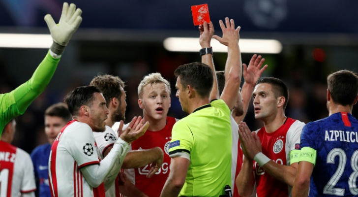 دوري أبطال أوروبا: تعادل مجنون بين تشلسي وأياكس 4-4