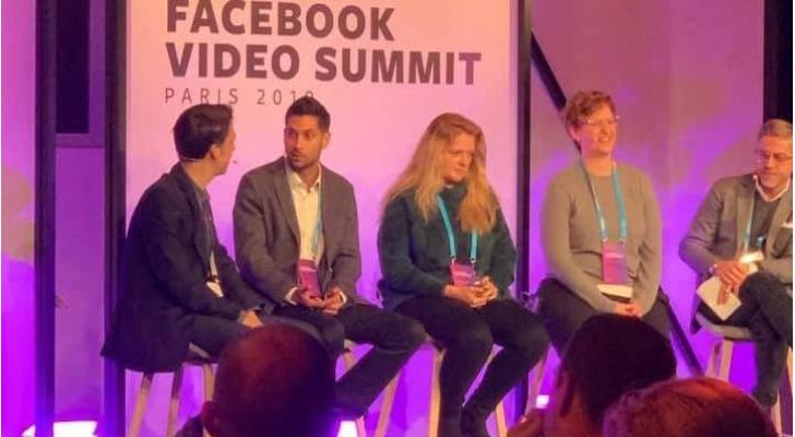 """مدير عام رؤيا فارس الصايغ يشارك في """"مؤتمر فيسبوك للفيديو"""" في باريس"""