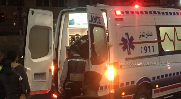 إصابتان بحادث تصادم داخل نفق السابع بعمان