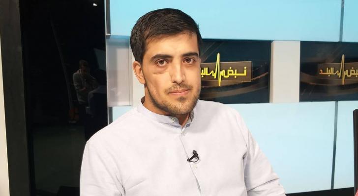 الأسير المحرر عبد الرحمن مرعي