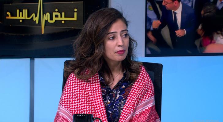الأسيرة الأردنية المحررة هبة اللبدي