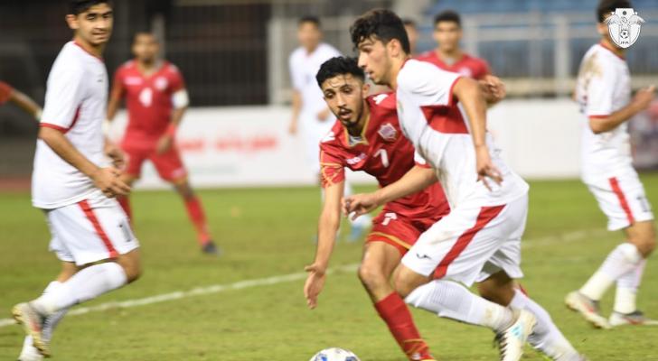 منتخب الشباب يتعادل مع البحرين ويودع التصفيات الآسيوية