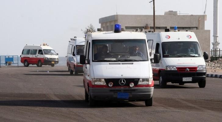 سيارات إسعاف مصرية - أرشيف