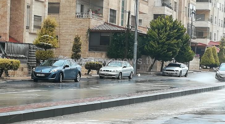 تنبيه من تشكل السيول في أجزاء البادية الجنوبية من الأردن - الصورة أرشيفية