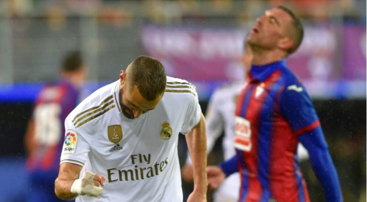 ريال مدريد يدك شباك إيبار برباعية