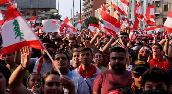 مظاهرات لبنان - ارشيفية