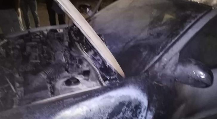 """""""العمل"""" تستنكر حادثة إضرام النار في مركبة مدير عمل جرش"""