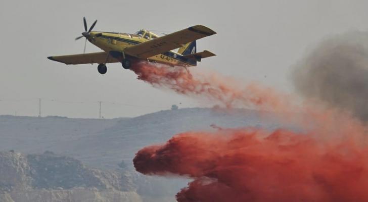 الاحتلال استدعى طائرات لإخماد الحرائق