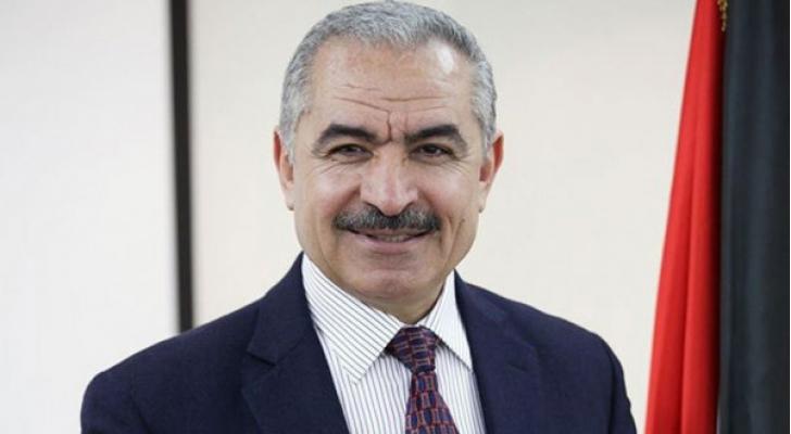 رئيس الوزراء الفلسطيني الدكتور محمد اشتية