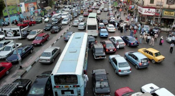 صورة أرشيفية لأحد شوارع العاصمة المصرية القاهرة