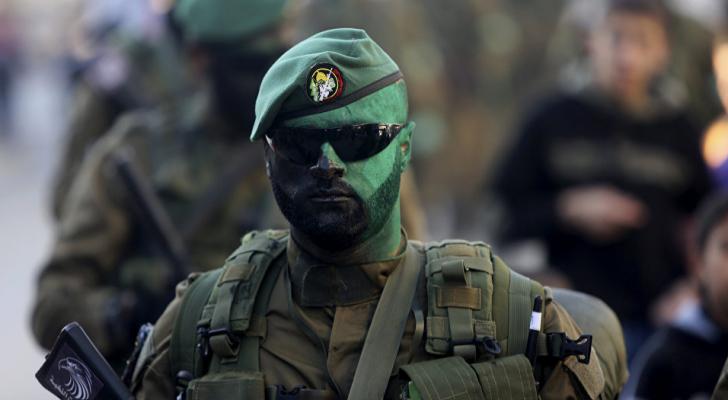 أحد عناصر القسام في غزة