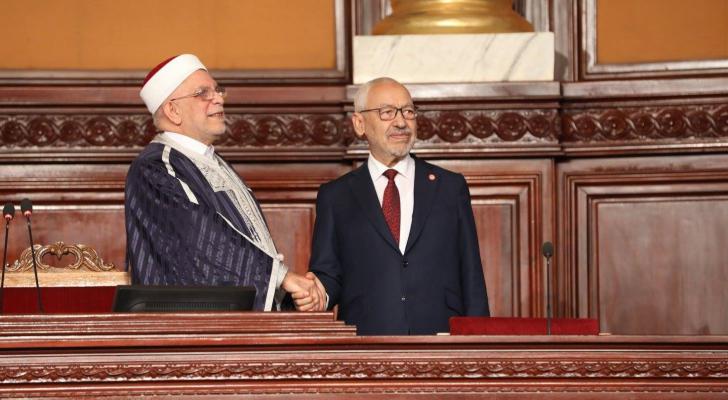 انتخاب راشد الغنوشي رئيسا للبرلمان التونسي