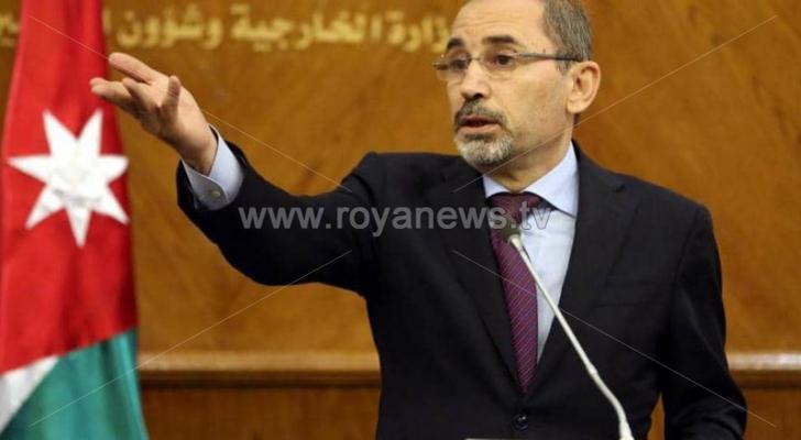 وزير الخارجية أيمن الصفدي