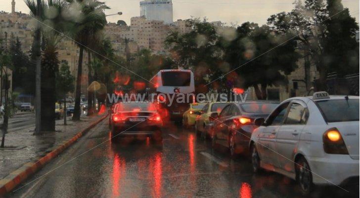 حالة الطقس المتوقعة في الأردن يومي الخميس والجمعة ..أمطار غزيرة عشوائية وتحذيرات هامة