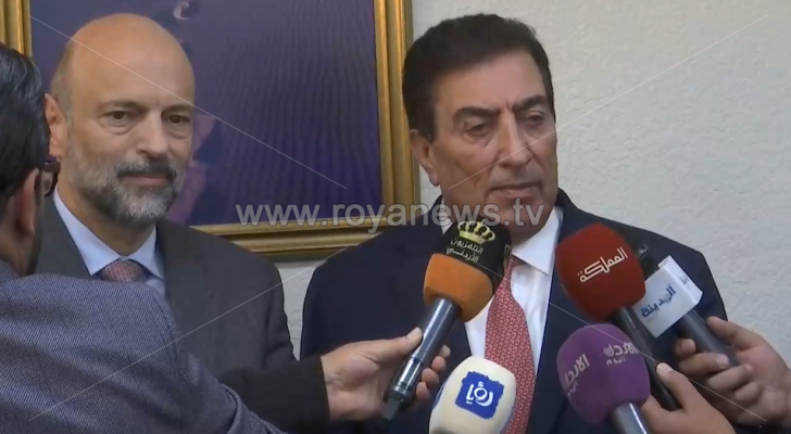 تصريح صحفي للطراونة والرزاز حول خطة تحفيز الاقتصاد الأردني