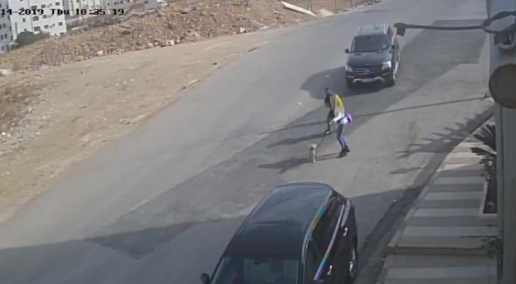 حادث دهس فتاة في عمان