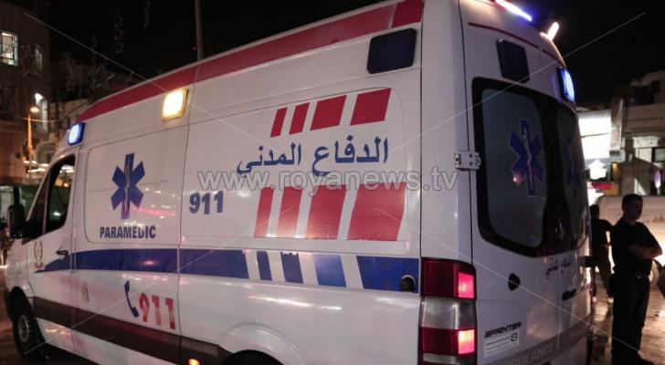 وفاتان و4 إصابات بحادث تصادم على طريق اوتوستراد المفرق الزرقاء