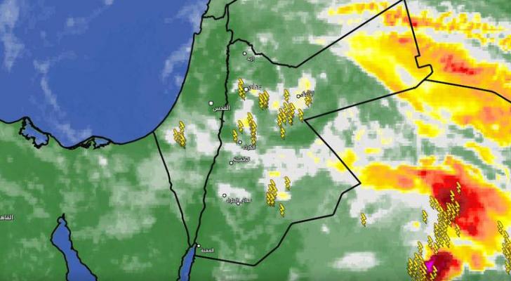 صورة للخرائط الجوية