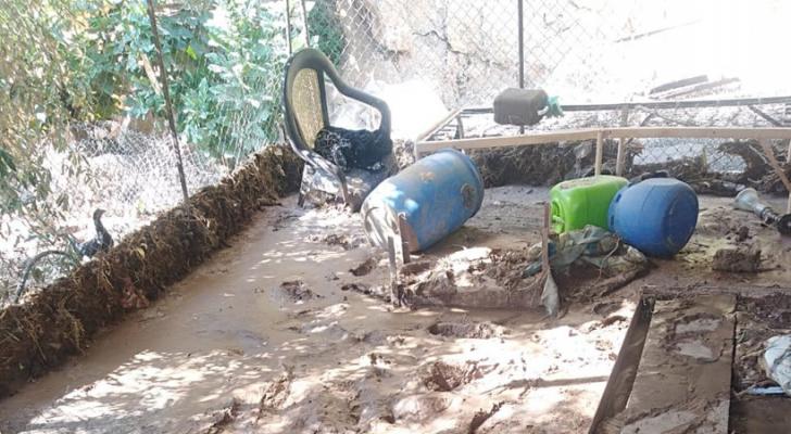 معونات حكومية طارئة للأسر المتضررة من السيول بالأغوار الشمالية