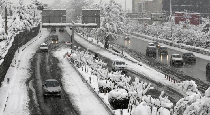 الثلوج الكثيفة في طهران - ارشيفية