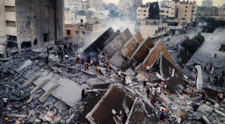 عدوان سابق للاحتلال على غزة