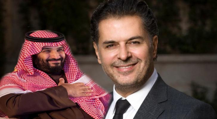 الفنان اللبناني راغب علامة ومحمد بن سلمان