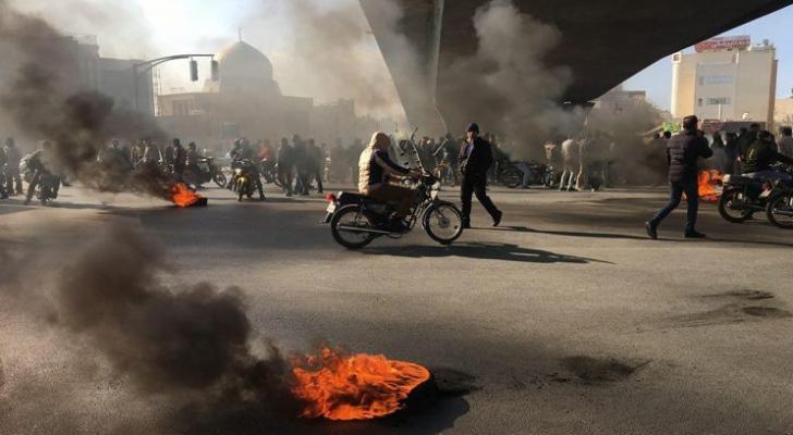 جامن من احتجاجات إيران