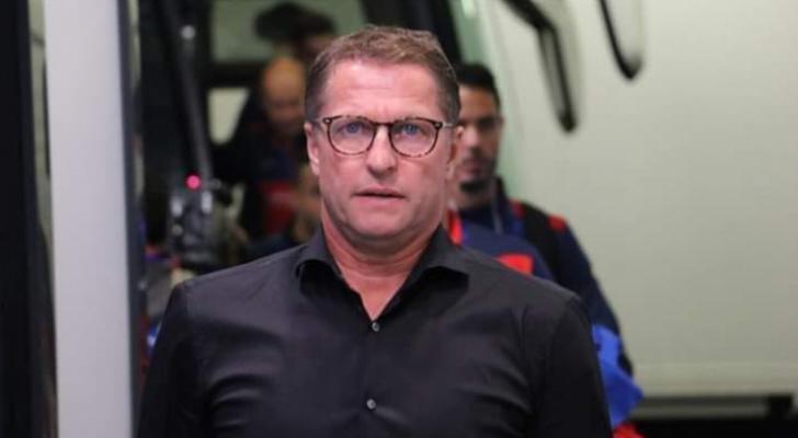 المدير الفني للمنتخب الوطني لكرة القدم البلجيكي فيتال بوركلمانز