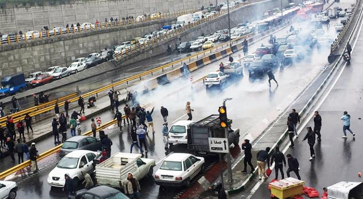 احتجاجات في طهران
