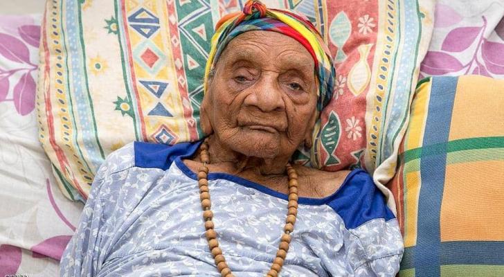 صورة أرشيفية لامرأة يزيد عمرها عن 100 عام