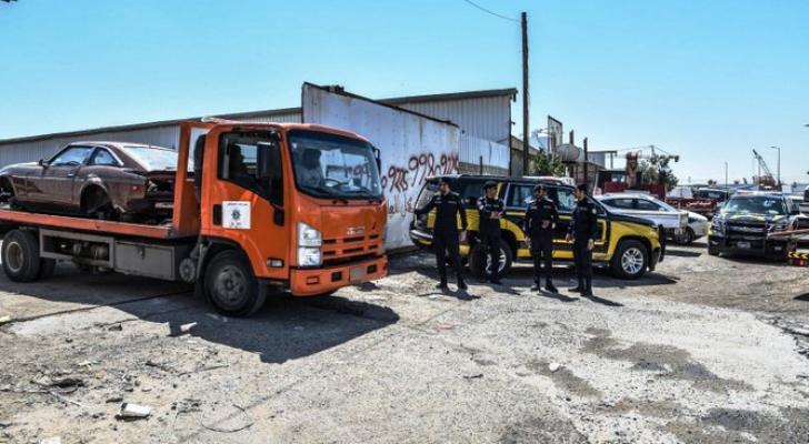 منطقة مداهمة وكر العصابة الأردنية