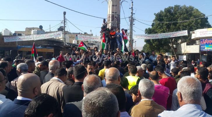 """أردنيون يحتفلون باستعادة """"الباقورة والغمر"""" في الأغوار الشمالية باربد"""