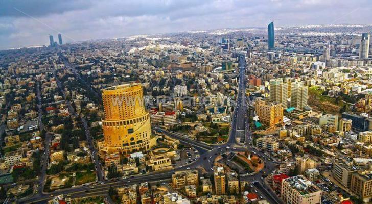 جانب من العاصمة عمان - ارشيفية