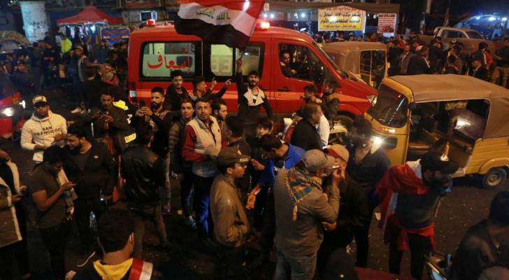 مقتل ثمانية اشخاص في العراق حيث تستمر الاحتجاجات