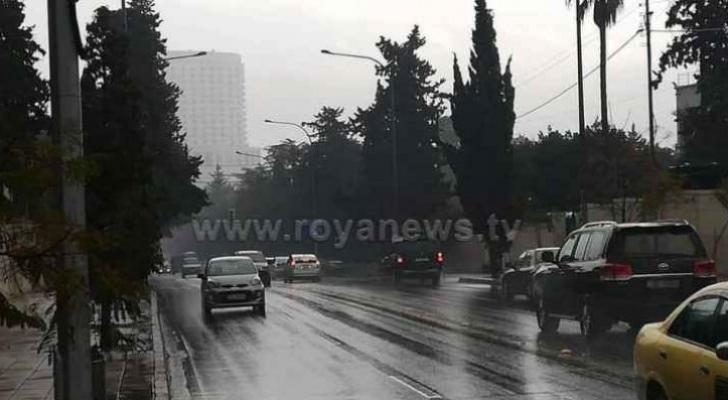 أمطار عمان - ارشيفية