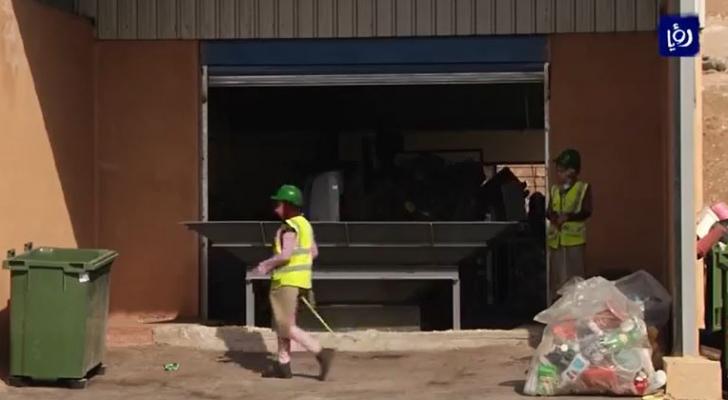 تحويل مكب الشونة الشمالية إلى محطة لتدوير النفايات الصلبة