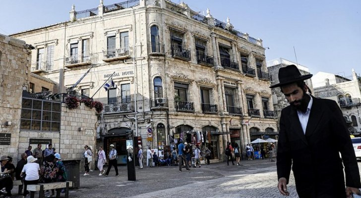 منطقة فندق البتراء في القدس