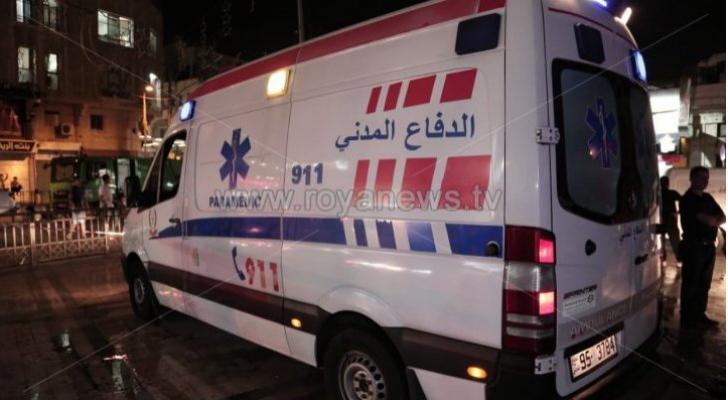 وفاة وإصابة بحادث تدهور ودهس في مادبا