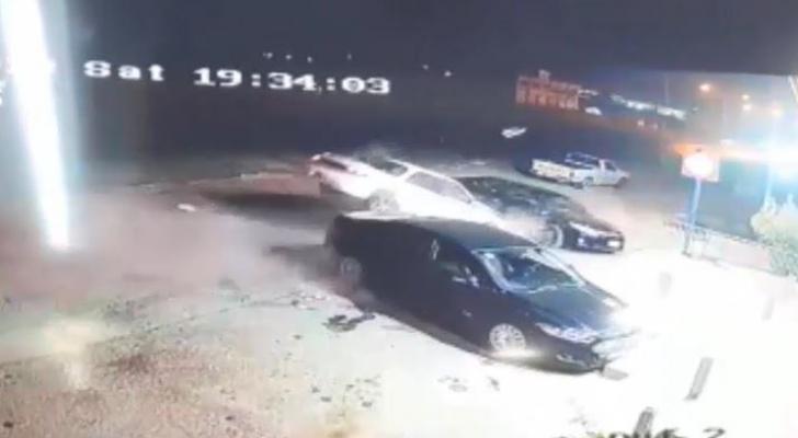 """حادث تصادم مروع بسبب الهاتف """"الخلوي"""""""
