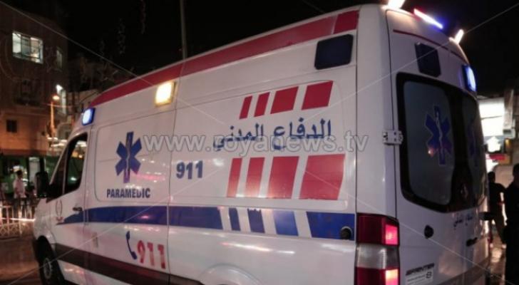 وفاة طفل دهسا في محافظة البلقاء