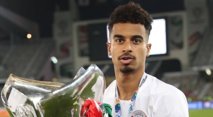 لاعب المنتخب القطري أكرم عفيف