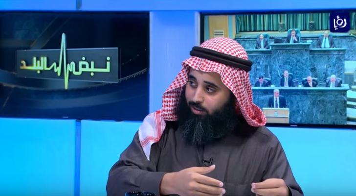 النائب محمد الرياطي اثناء استضافته في برنامج نبض البلد- ارشيفية
