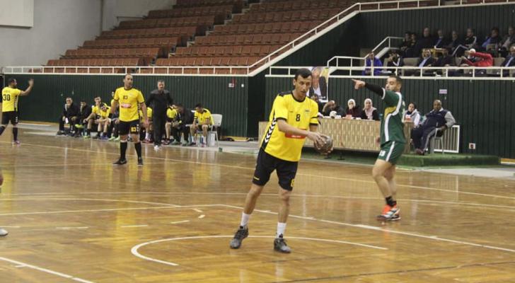 إنطلاق منافسات نصف نهائي كأس الأردن لكرة اليد
